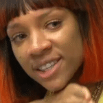 lil mama red haired black woman crying meme template blank