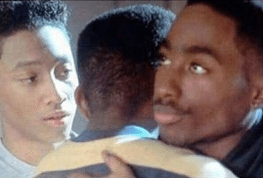 black guy hugging meme template