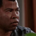 jordan peele sweating black guy meme template