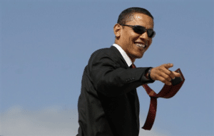 Cool Obama with Sunglasses Template Political meme template