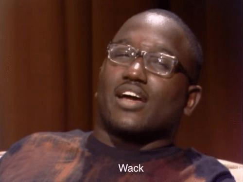 black guy hannibal wack meme template