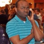 black man on phone meme termplate