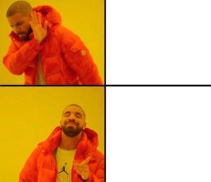 Drake Meme Template (Blank) Drake meme template