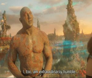 I too am extraordinarily humble Avengers meme template