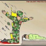 Soldier Taking Bullets Template (blank)  meme template blank