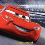 cars I am speed meme template