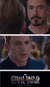 Captain America Civil War Disagreement Avengers meme template