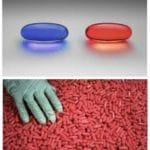 Grabbing Red Pills meme template blank