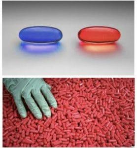 Grabbing Red Pills (blank) Opinion meme template