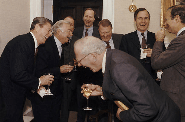 """republicans laughing old """"And then I told them"""" meme template blank"""