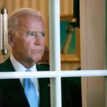 Joe Biden Looking Out Window Political meme template blank