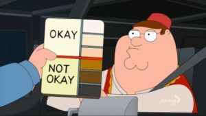 Peter Griffin Skin Colors TV meme template