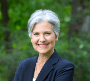 Jill Stein Happy / Portrait Political meme template