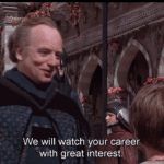 """Palpatine """"We will watch your career…"""" Prequel meme template blank"""