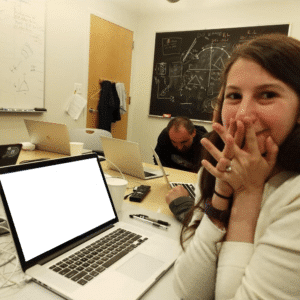 Black Hole Scientist Girl Scientist meme template