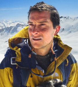 Bear Grylls / Better Drink My Own Piss (blank) TV meme template