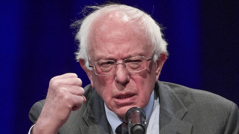 Bernie Sanders Angry Political meme template blank