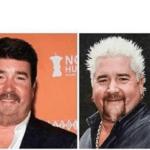 Normal Guy Fieri vs. Guy Fieri  meme template blank