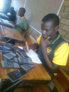 Black Kid with Calculators Black Twitter meme template