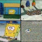 Spongebob Pretty Patties Spongebob meme template blank