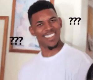 Confused Black Guy Confused meme template