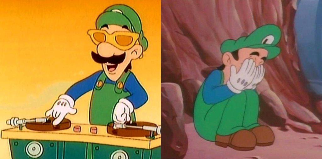 Meme Generator - Luigi Happy Then Sad - Newfa Stuff