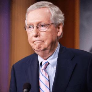 Mitch McConnell Sad Face meme template