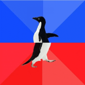 Socially Awesome Penguin Classic meme template