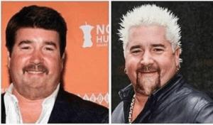 Guy Fieri vs. Normal Guy Fieri Food meme template