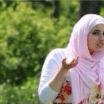 Confused Muslim Girl  meme template blank