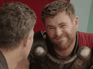 Thor Squinting Face Avengers meme template
