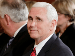 Mike Pence Smug/Happy Political meme template