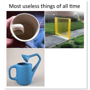 Most Useless Things of All Time (blank) Opinion meme template