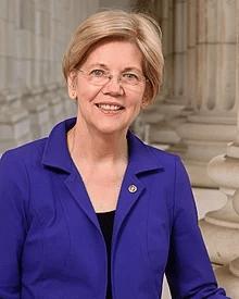 Elizabeth Warren Happy Political meme template blank