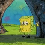 Spongebob Tired/Naked Spongebob meme template