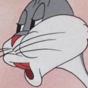 Bugs Bunny saying No (no text, blank) Reaction meme template