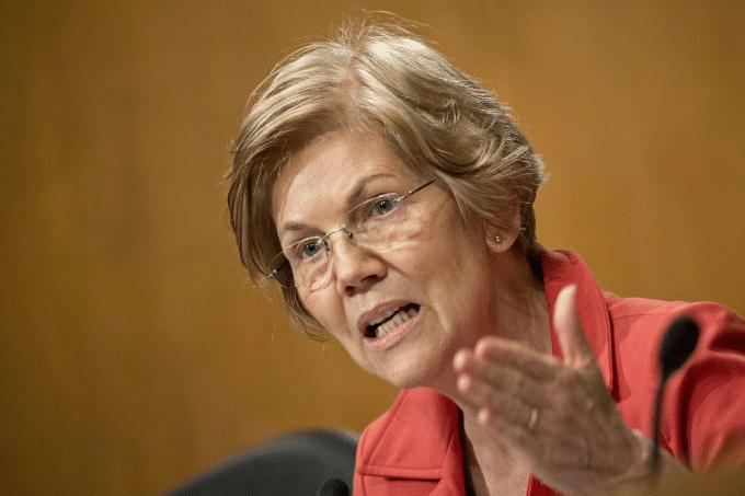 Elizabeth Warren Angry / Frustrated Political meme template blank