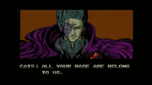 All Your Base Are Belong to Us Gaming meme template