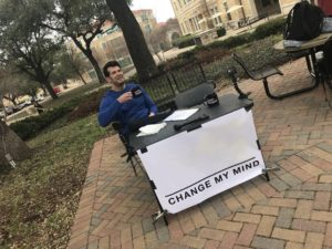 Change My Mind blank template Opinion meme template