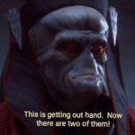 """""""Now there are two of them"""" Prequel meme template blank"""