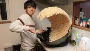 Rice Wave Food meme template