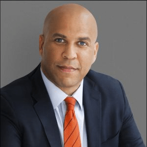 Cory Booker Happy Political meme template