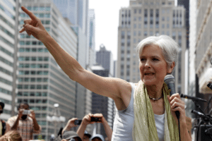 Jill Stein Happy Political meme template