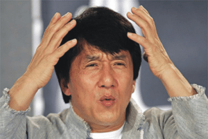 Confused Jackie Chan Confused meme template