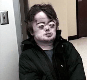 Brian Peppers / Bulgy Eye Guy Disturbed meme template