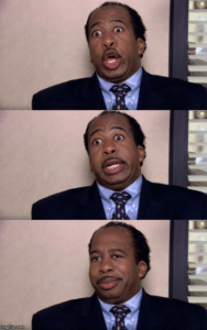 The Office Stanley Reactions The Office meme template