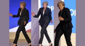 Theresa May Dancing Dancing meme template