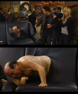 Frank Crawling out of Couch Always Sunny meme template
