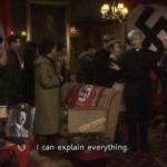 Nazi I Can Explain Everything  meme template blank