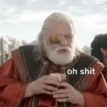 Thor / Odin 'oh shit'  meme template blank Marvel Avengers